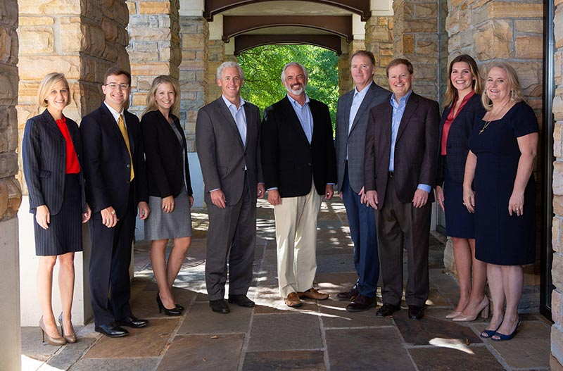 Photo of the Barze Taylor Noles Lowther legal team.
