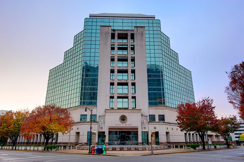 Photo of United States Courthouse in Birmingham, Alabama .