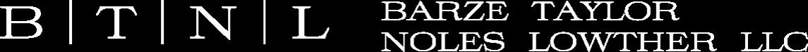 Logo:  Barze Taylor Noles Lowther LLC